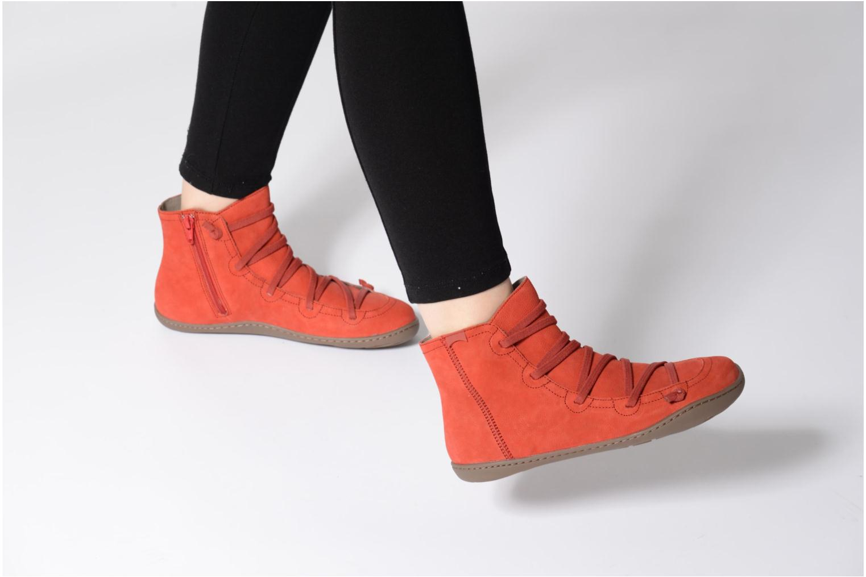 Bottines et boots Camper Peu Cami 46104 Rouge vue bas / vue portée sac