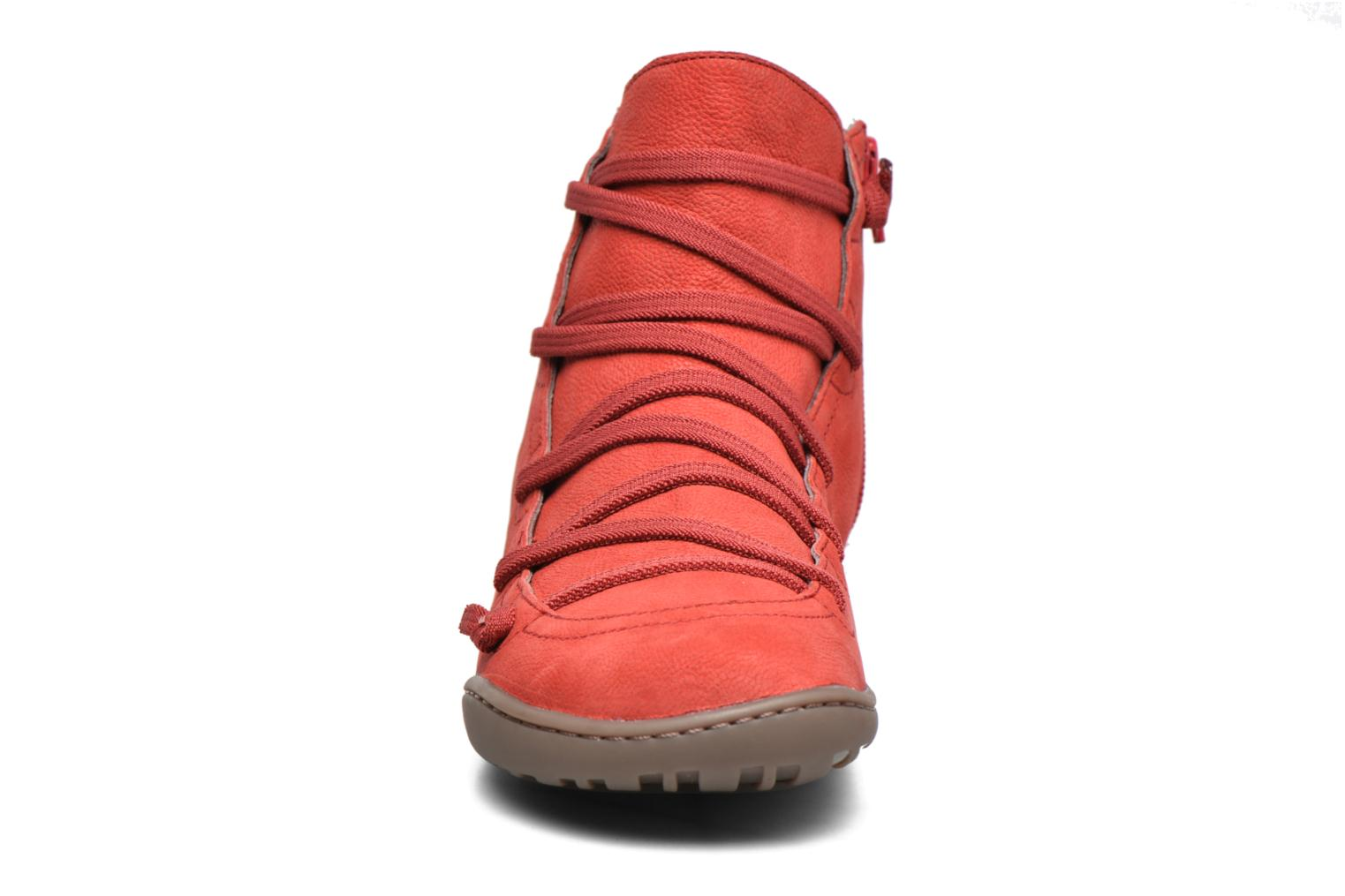 Ankle boots Camper Peu Cami 46104 Red model view