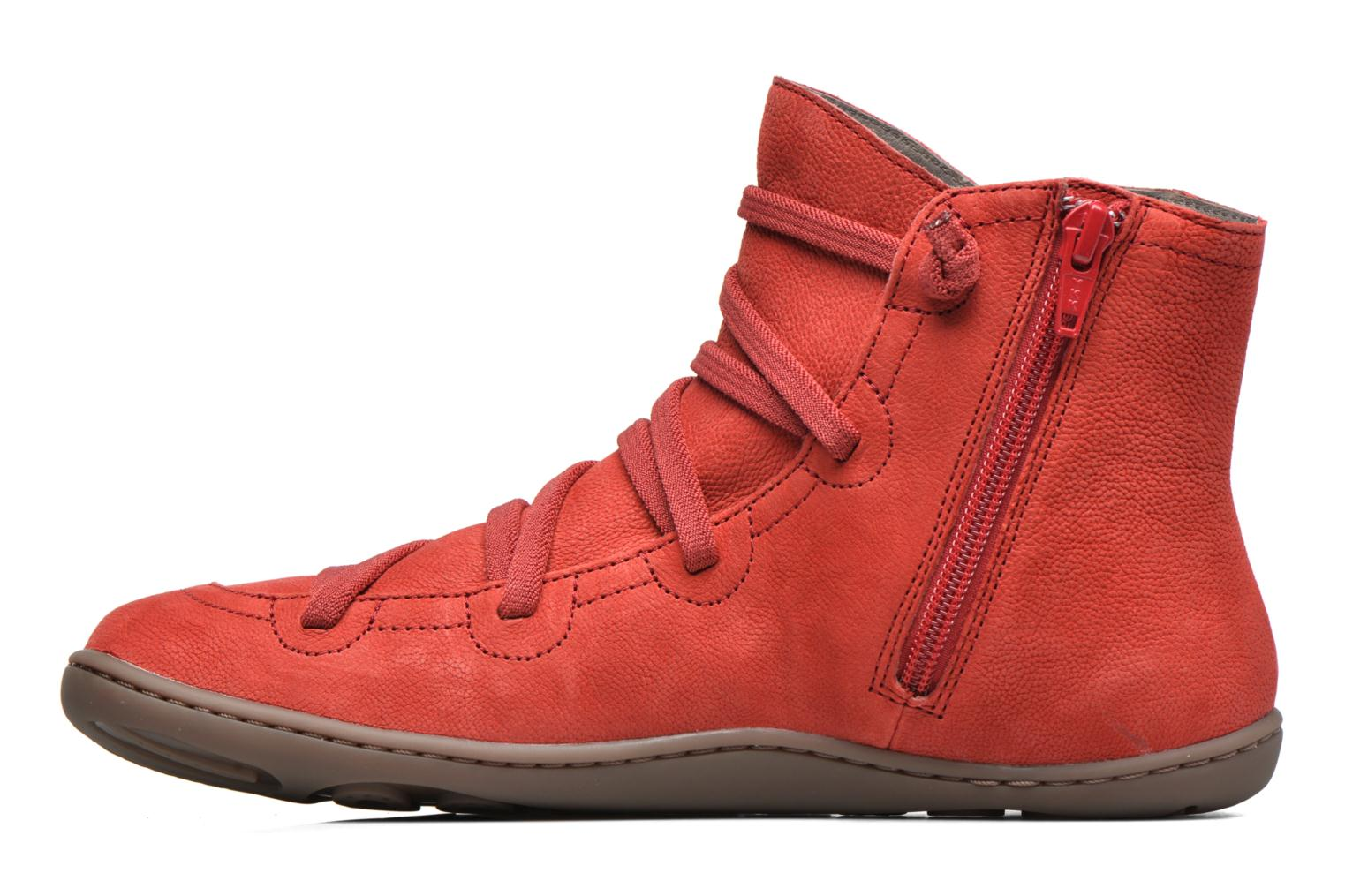 Ankle boots Camper Peu Cami 46104 Red front view