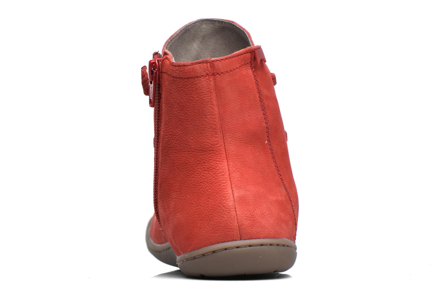 Ankle boots Camper Peu Cami 46104 Red view from the right