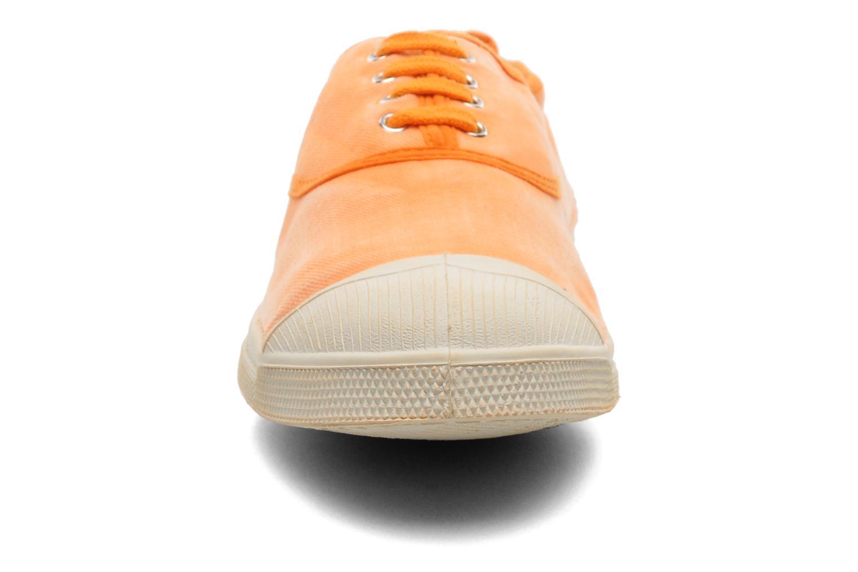 Baskets Bensimon Tennis Vintage H Orange vue portées chaussures