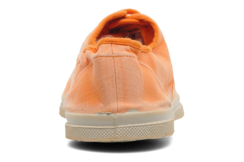 Baskets Bensimon Tennis Vintage H Orange vue droite