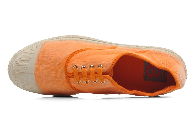 Baskets Bensimon Tennis Vintage H Orange vue gauche