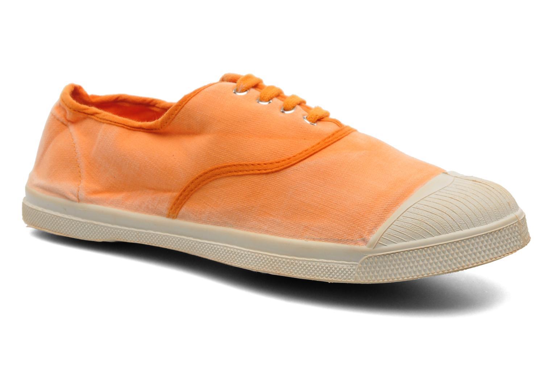 Baskets Bensimon Tennis Vintage H Orange vue détail/paire