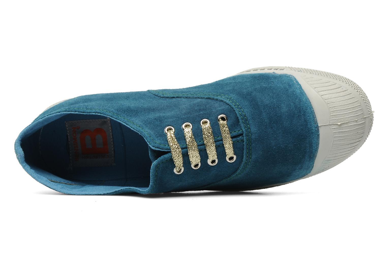 Sneaker Bensimon Tennis Suede F blau ansicht von links