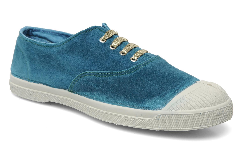 Sneaker Bensimon Tennis Suede F blau detaillierte ansicht/modell