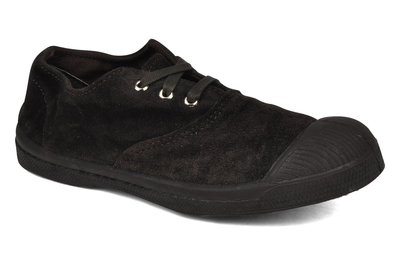 Sneakers Bensimon Tennis Suede E Bruin detail