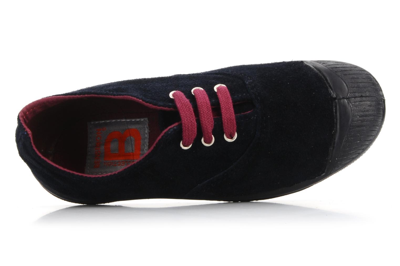 Sneakers Bensimon Tennis Suede E Blauw links