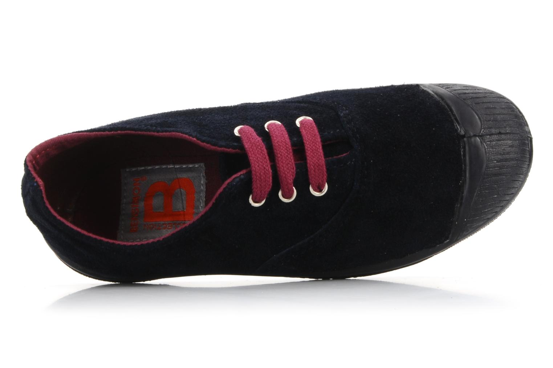 Sneakers Bensimon Tennis Suede E Blå se fra venstre