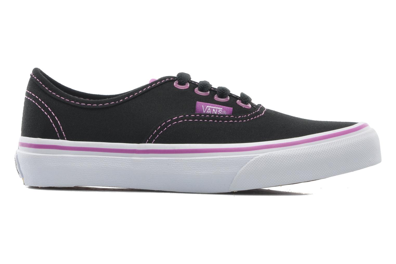 Sneakers Vans Authentic BB Zwart achterkant