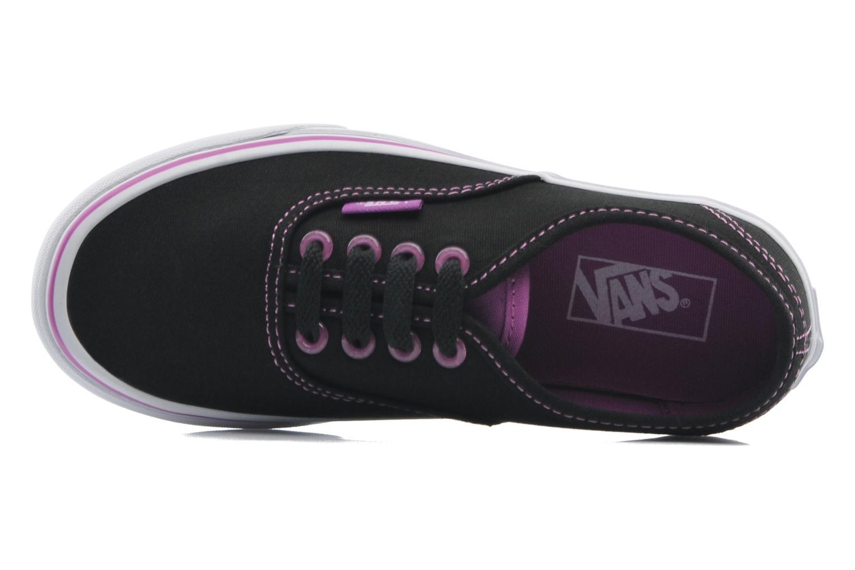 Baskets Vans Authentic BB Noir vue gauche