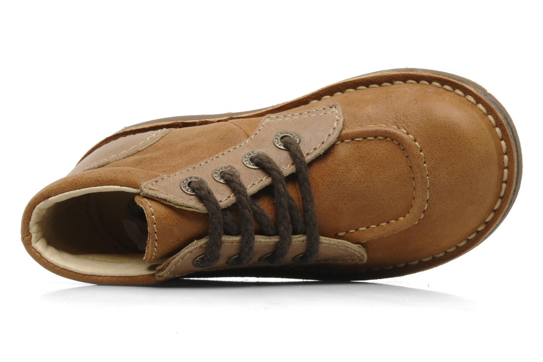 Stiefeletten & Boots Kickers World braun ansicht von links