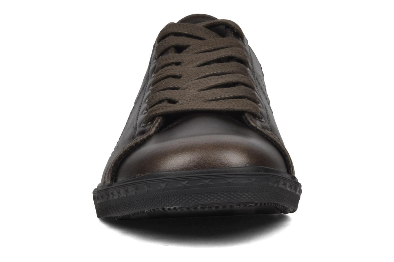 Baskets Converse OS Low Profile Ox W Marron vue portées chaussures