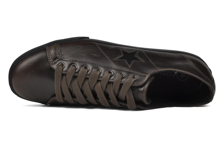 Sneaker Converse One Star Low Profile Ox M braun ansicht von links
