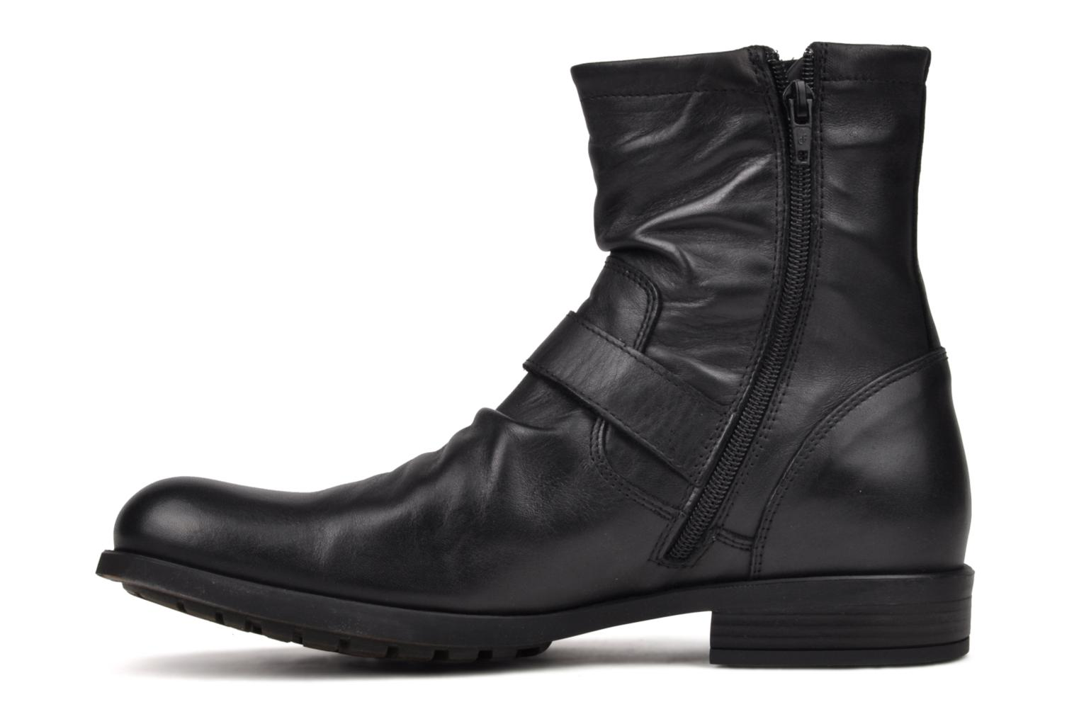 Boots & wellies Base London Metal Black front view