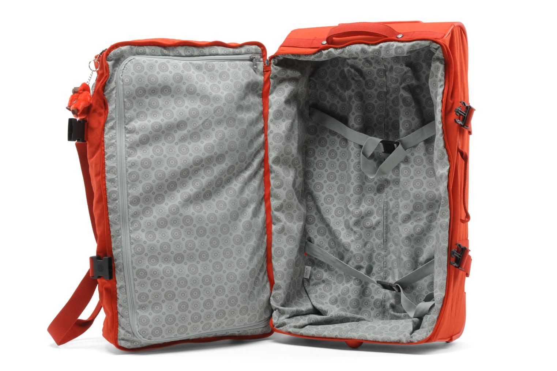 Reisegepäck Kipling Teagan M rot ansicht von hinten