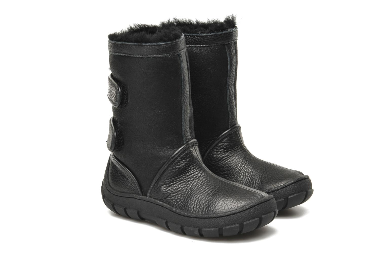 Boots & wellies Pom d Api Piwi Chabraque Black 3/4 view