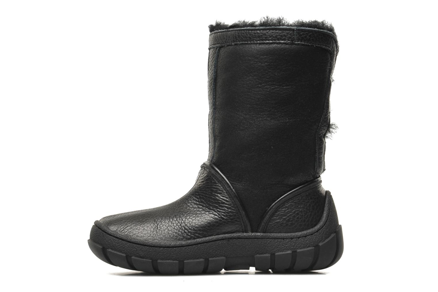 Boots & wellies Pom d Api Piwi Chabraque Black front view