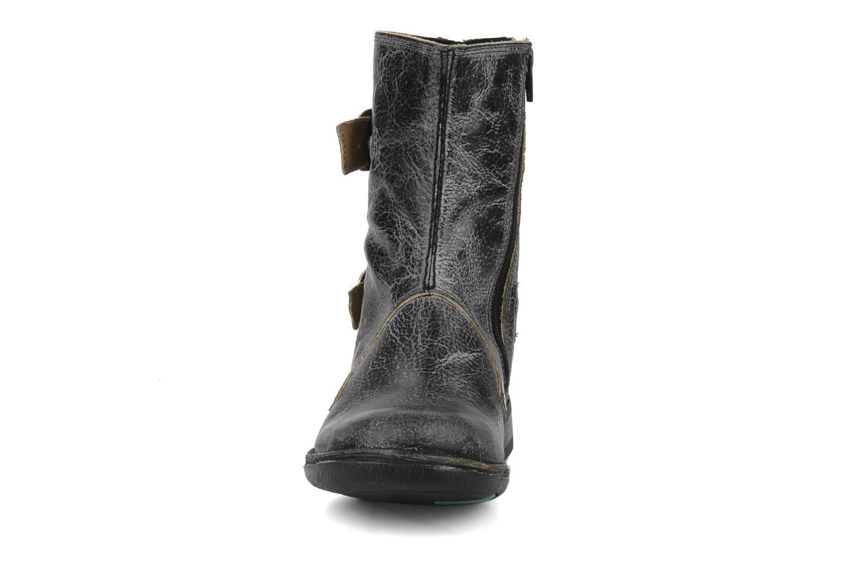 Bottines et boots Kickers Rocket Noir vue portées chaussures