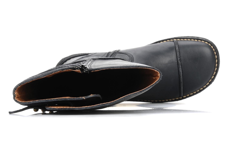 Stiefel Kickers Olibotte schwarz ansicht von links