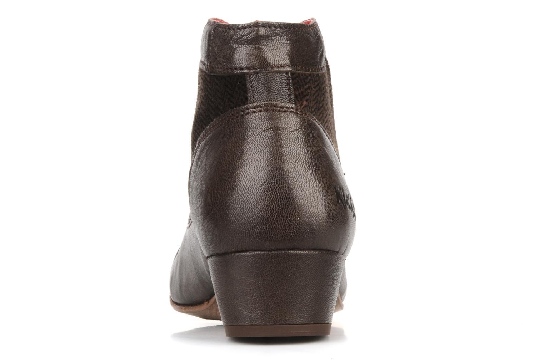 Stiefeletten & Boots Kickers Ginger braun ansicht von rechts