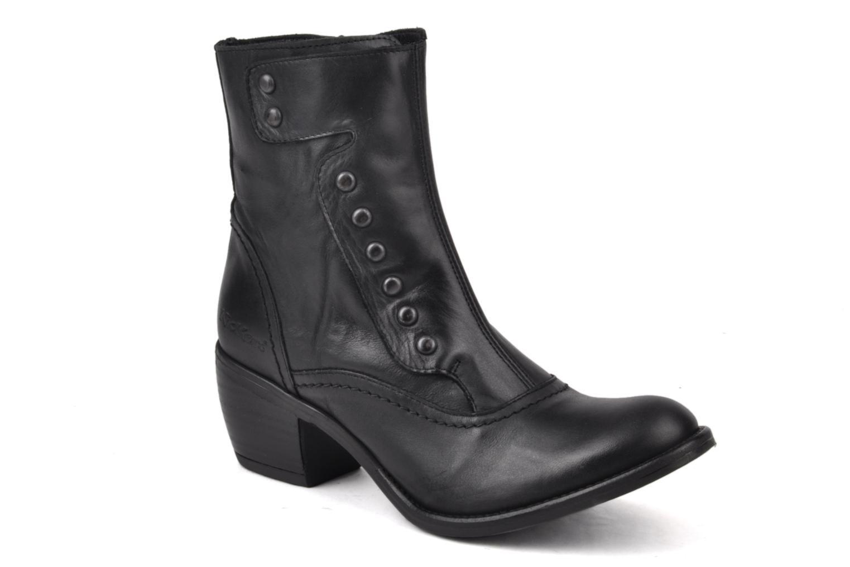 Boots en enkellaarsjes Kickers Utah Zwart detail