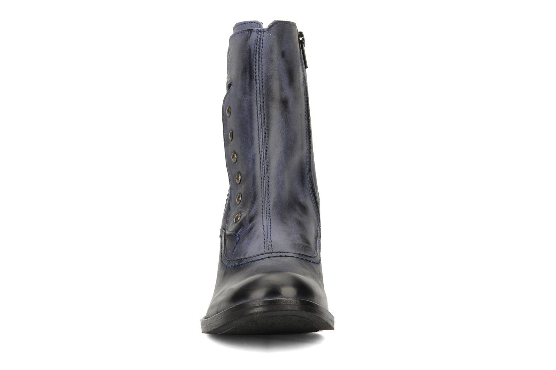 Bottines et boots Kickers Utah Bleu vue portées chaussures