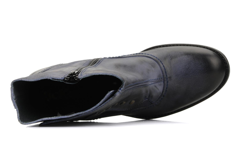Bottines et boots Kickers Utah Bleu vue gauche