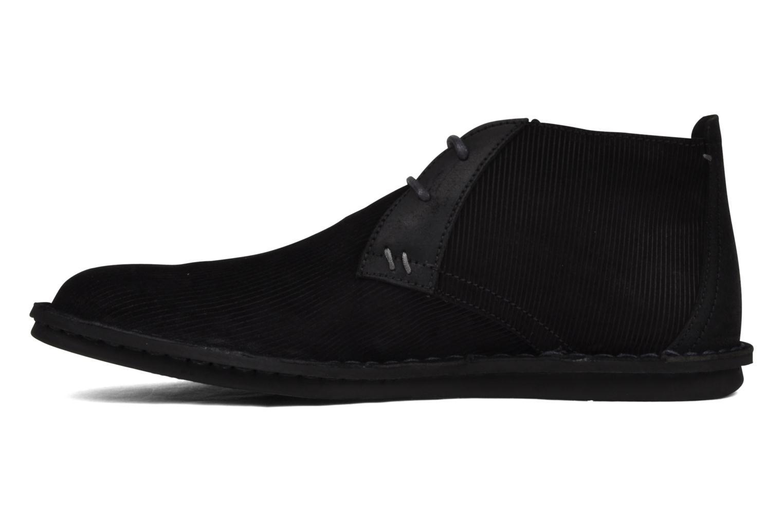 Chaussures à lacets Kickers Magnok Noir vue face