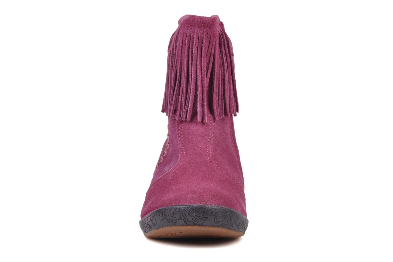 Bottines et boots Naturino Katel Rose vue portées chaussures