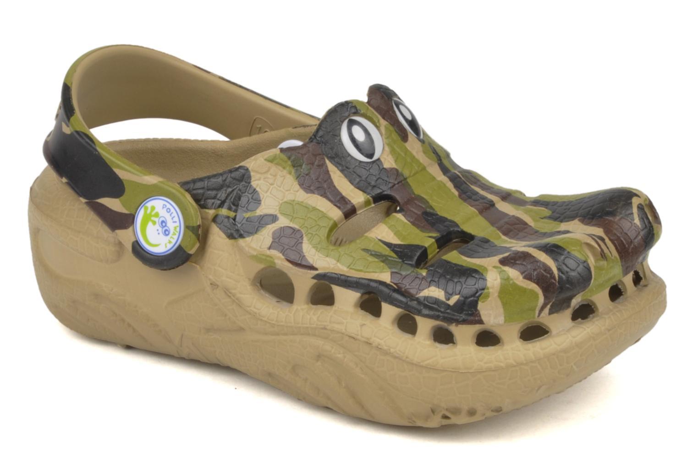 Sandali e scarpe aperte Polliwalks Igor L'alligator Verde vedi dettaglio/paio