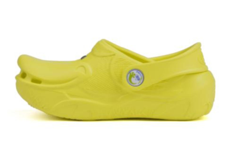 Sandals Polliwalks Léonard Le Canard Yellow front view