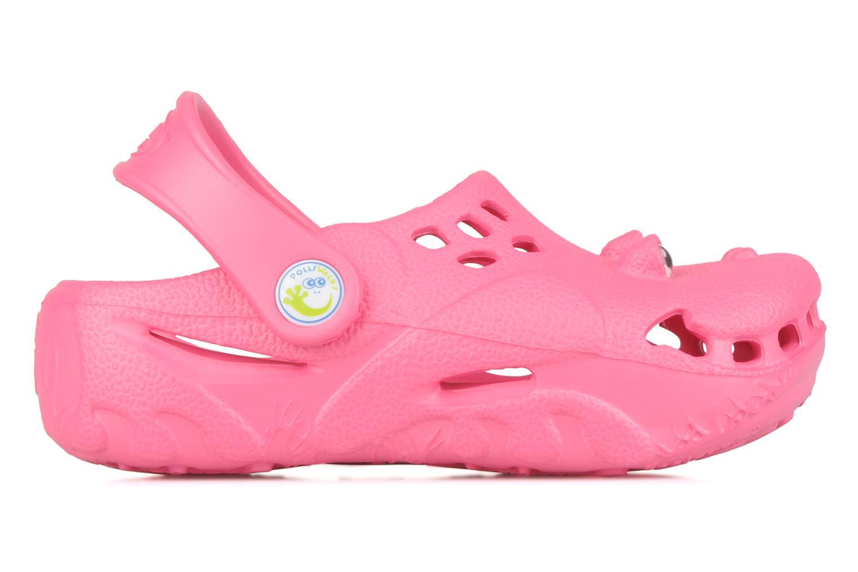 Sandals Polliwalks Bilbouille La Grenouille Pink back view