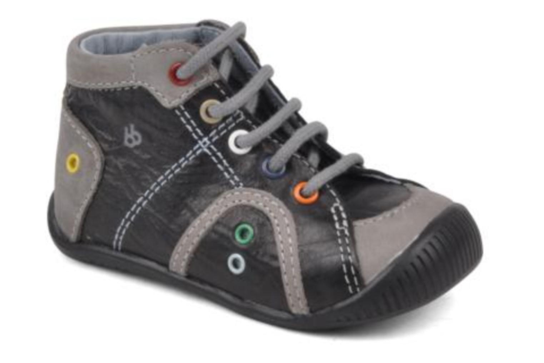Ankelstøvler Babybotte Frank Grå detaljeret billede af skoene