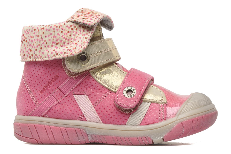 mit Klettverschluss Babybotte Acteur rosa ansicht von hinten