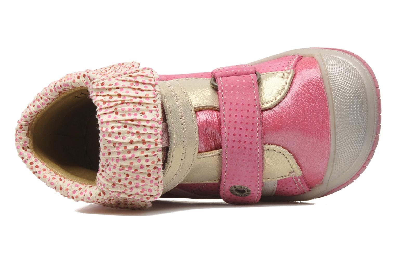 mit Klettverschluss Babybotte Acteur rosa ansicht von links