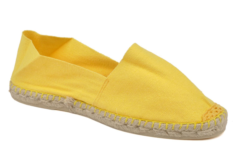 Espadrilles La maison de l'espadrille Sabline F gelb detaillierte ansicht/modell