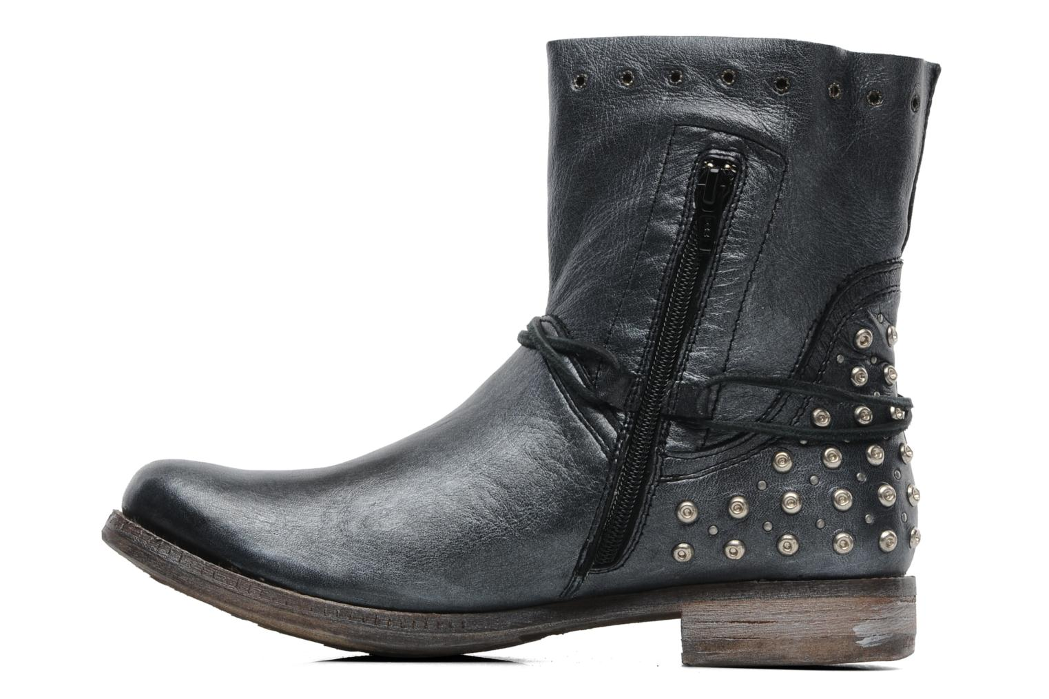 Ankle boots Khrio Berta Black front view