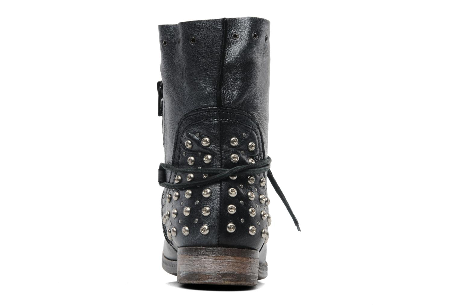 Ankle boots Khrio Berta Black view from the right