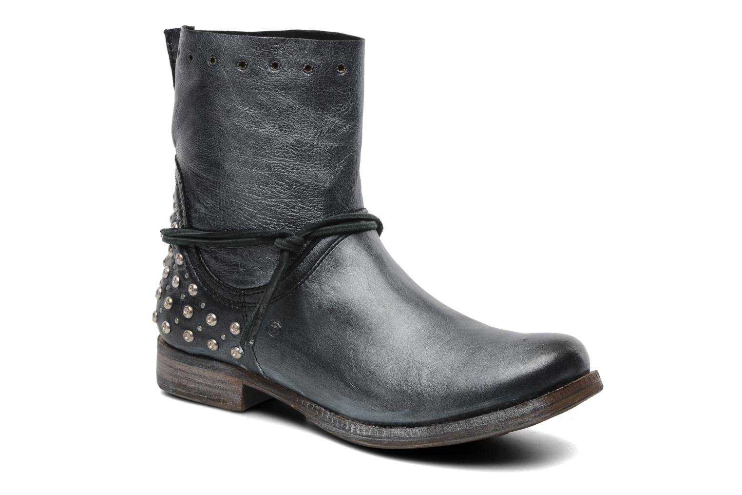 Ankle boots Khrio Berta Black detailed view/ Pair view