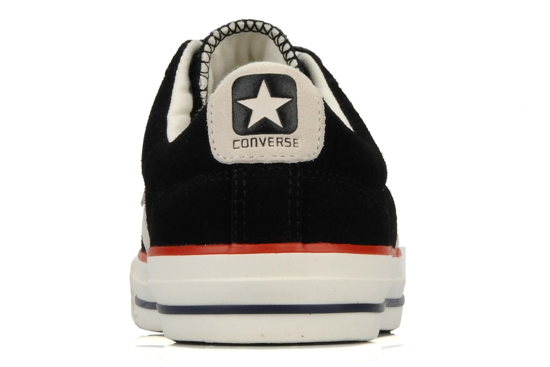 Sneakers Converse Star Player Ev Suede Ox W Nero immagine destra