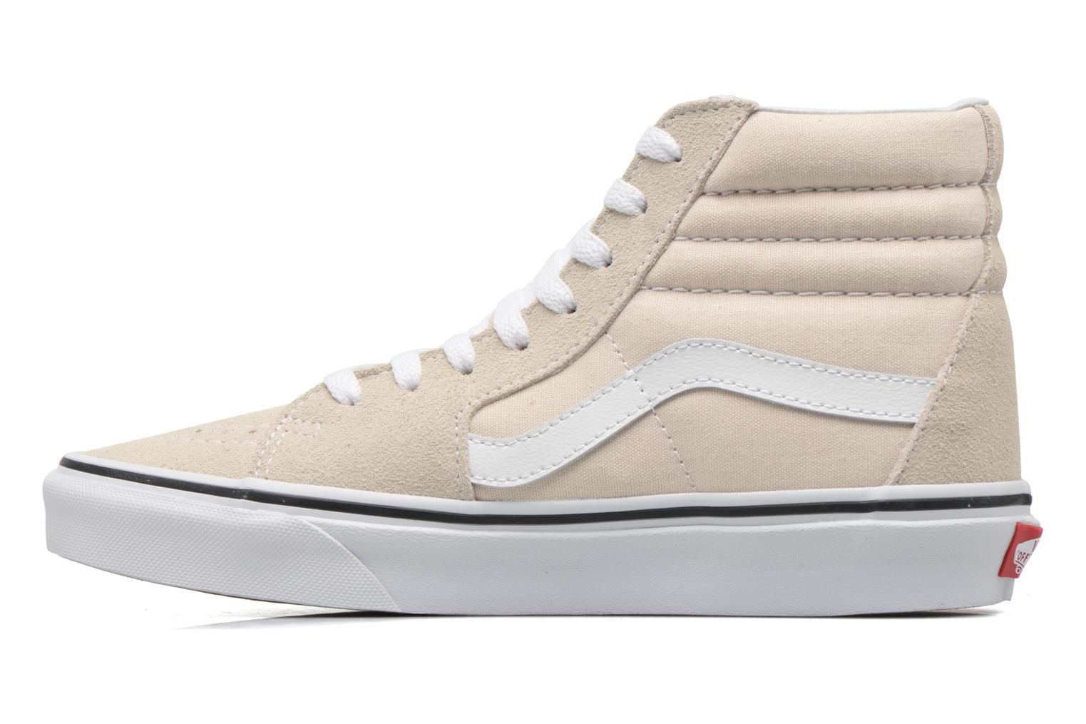 Trainers Vans SK8 Hi W White front view