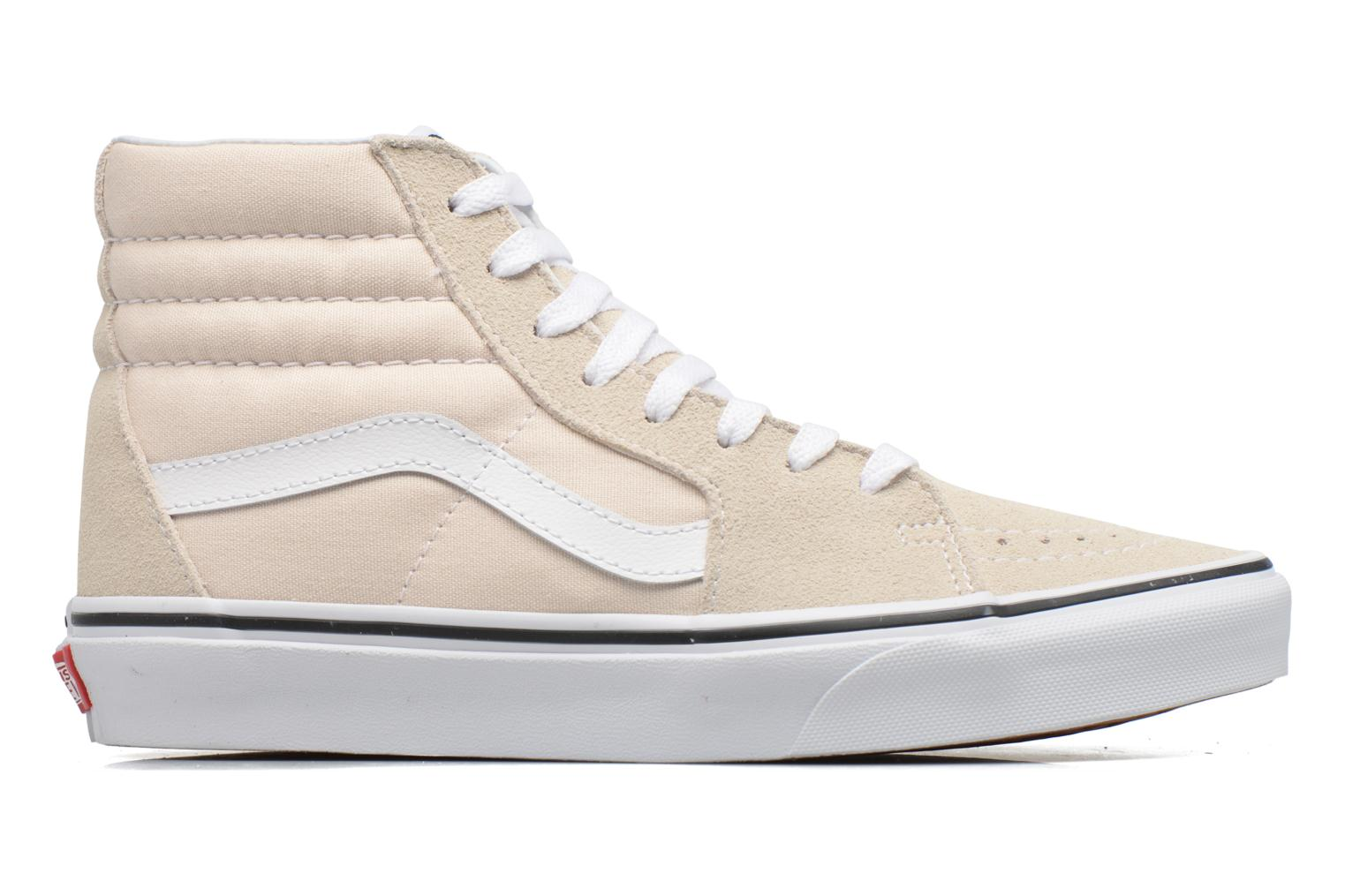 Trainers Vans SK8 Hi W White back view