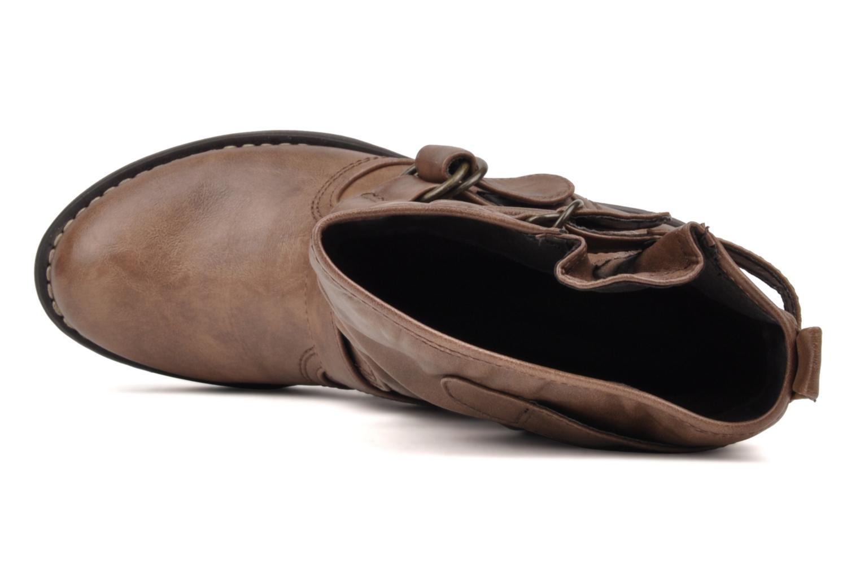 Boots en enkellaarsjes Mustang shoes Brea Bruin links