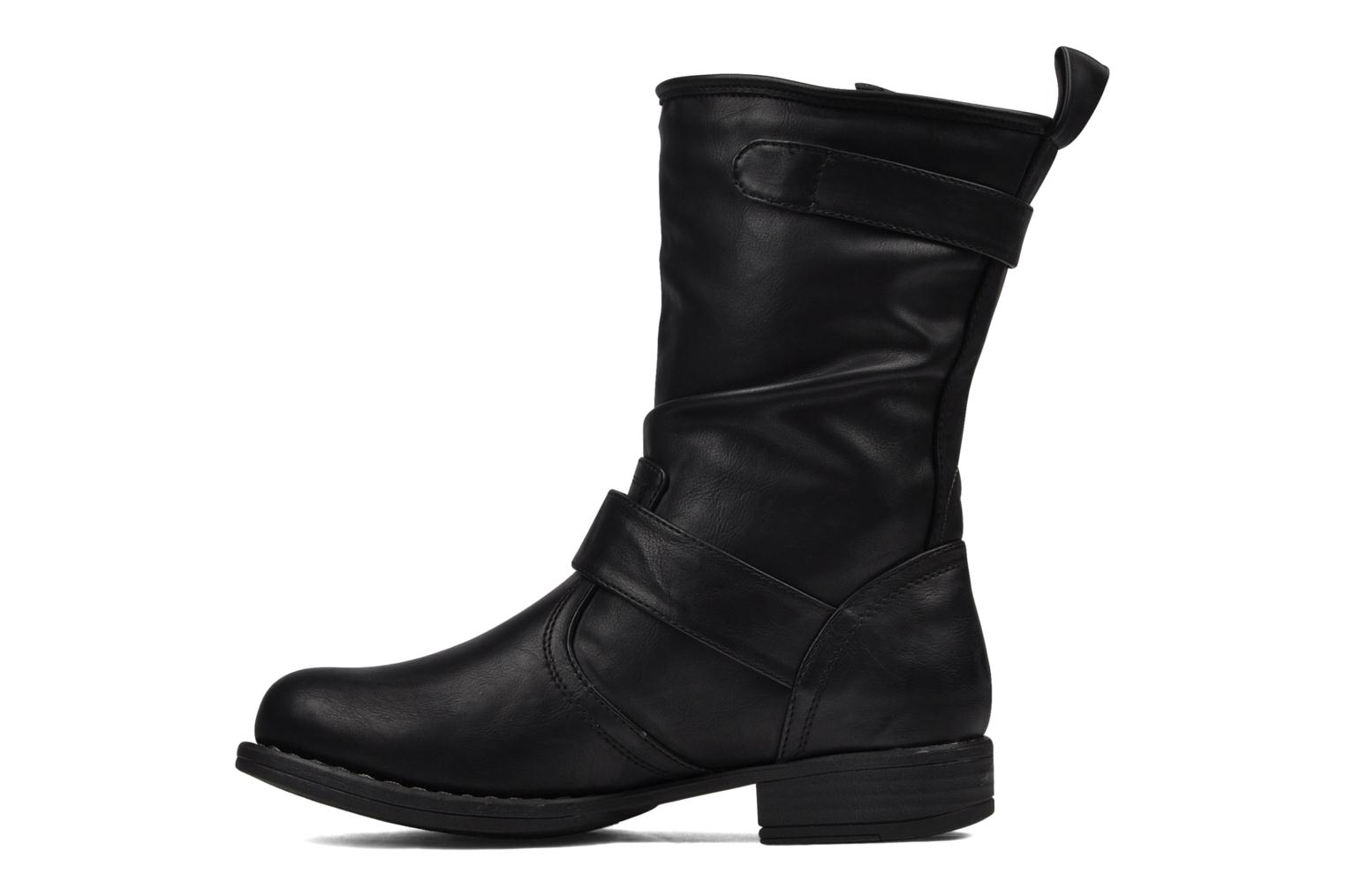 Ankle boots Mustang shoes Brea Black front view
