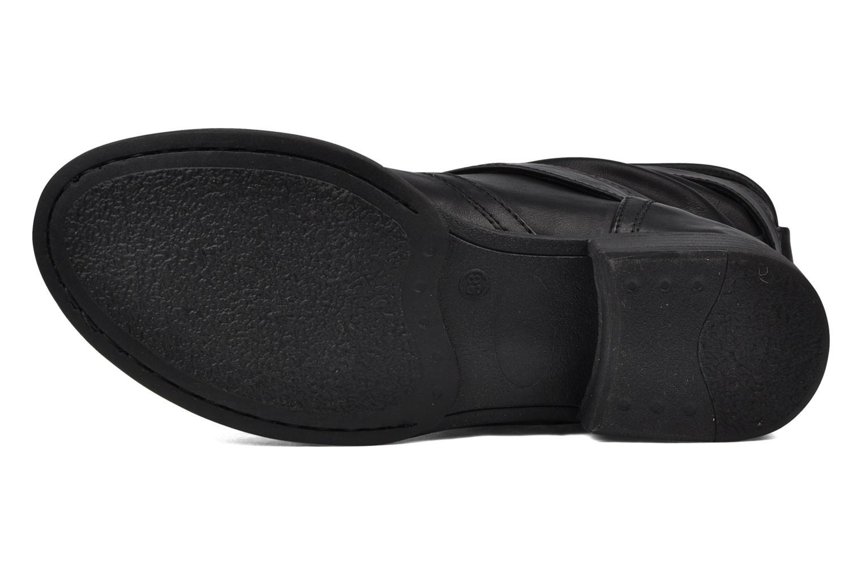 Bottines et boots Mustang shoes Brea Noir vue haut
