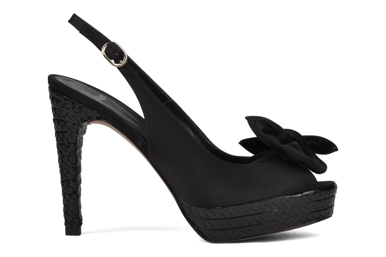 Sandales et nu-pieds Castaner Lili Noir vue derrière