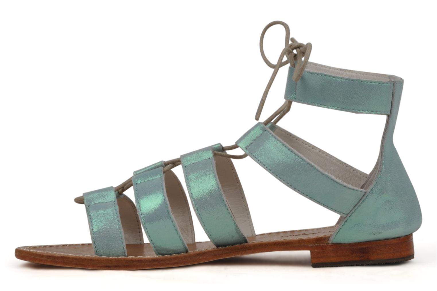 Sandals Mellow Yellow Hirondelle Blue front view
