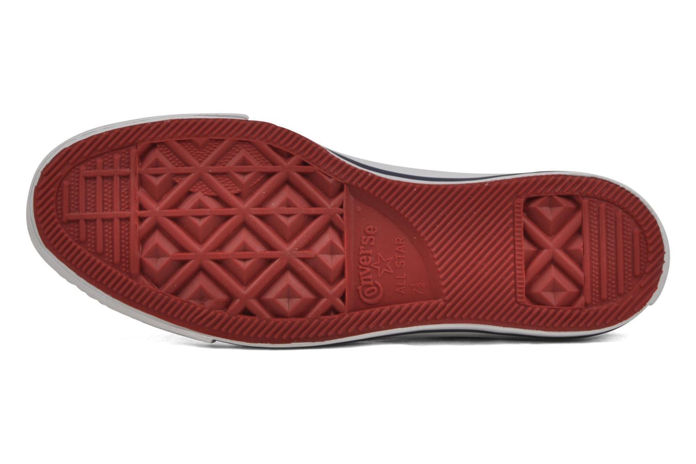 Sneaker Converse Chuck Taylor All Star Stars & Bars Hi M weiß ansicht von oben