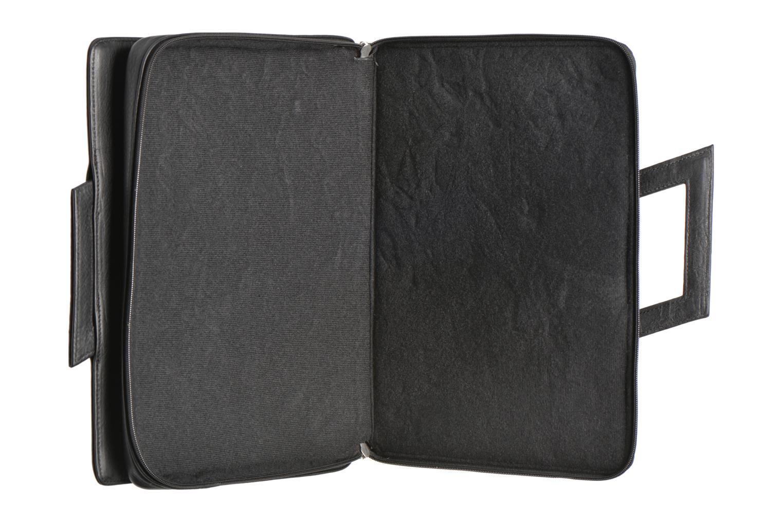 Business Lin & Gelli Elegy Notebook Zwart achterkant
